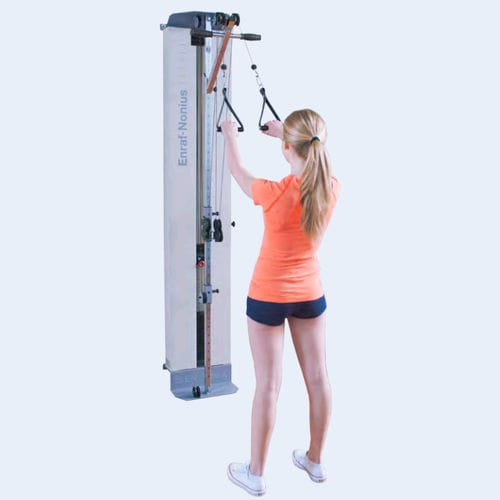dual-cable exercise pulley / high / low