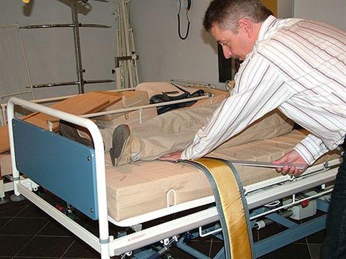 patient lift sling / leg