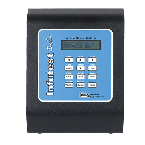 infusion pump tester / portable