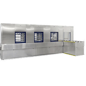floor-standing washer-disinfector / high-capacity