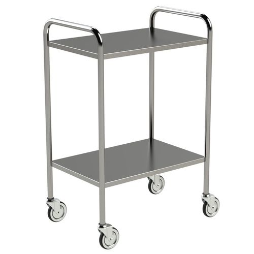 treatment trolley / for general purpose / 2-tray / medical