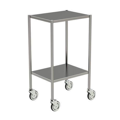 storage trolley / for general purpose / 2-tray / medical