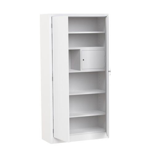 medicine cabinet / hospital / with shelf / 2-door