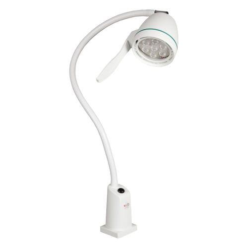 LED examination lamp / floor-standing / flexible