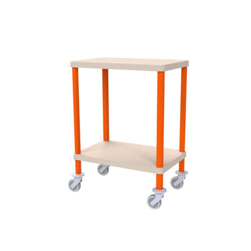 transport trolley / for general purpose / with tray / medical