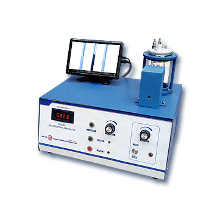 melting point tester / for the pharmaceutical industry / bench-top / digital