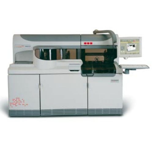 automatic immunoassay analyzer / for clinical diagnostic / floor-standing / chemiluminescence