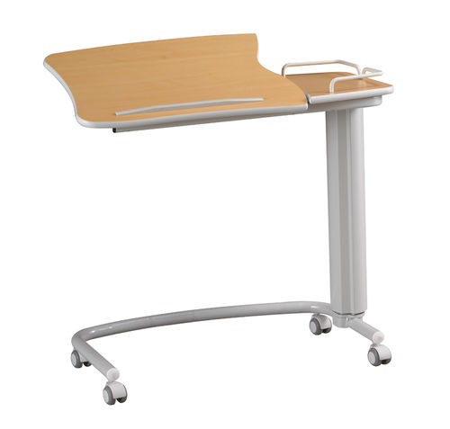height-adjustable overbed table