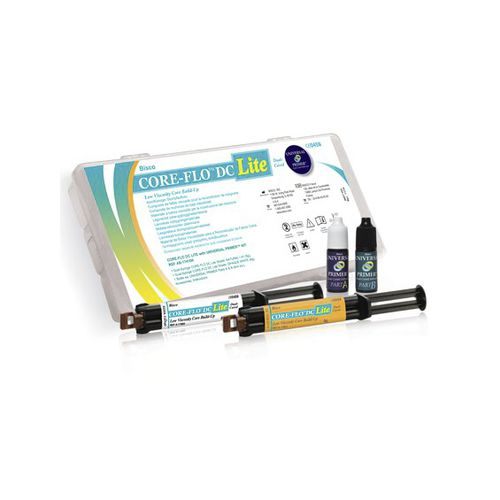 gel dental material / for dental restorations / opaque