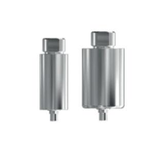 straight implant abutment / titanium / internal tri-lobe / screw