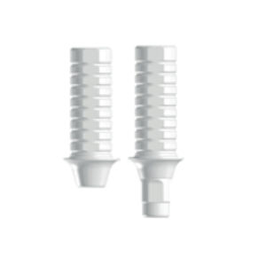 straight implant abutment / titanium / internal / conical