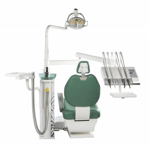 dental treatment unit with light