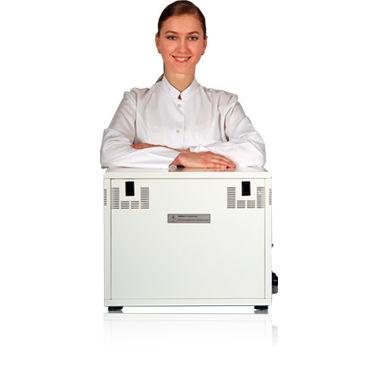 dental vacuum pump / oil-free / 2-workstation