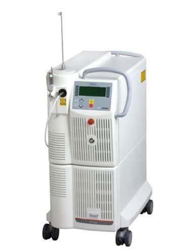 surgical laser / acne treatment / Nd:YAG / trolley-mounted