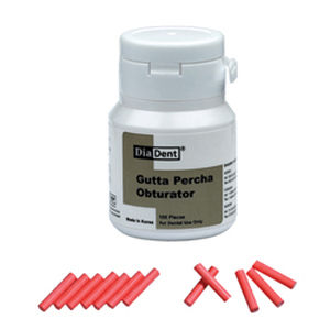 gutta-percha dental material / for root canal filling