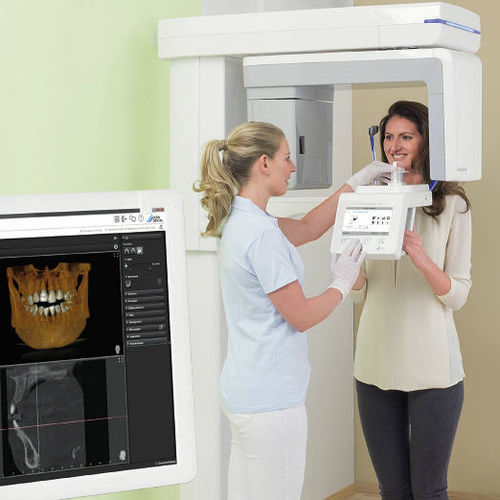 panoramic X-ray system / digital / floor-mounted