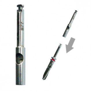 dental implantology drill extension