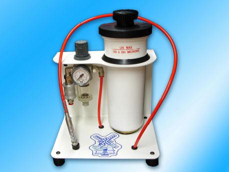 pneumatic sandblaster / 1-tank / mobile