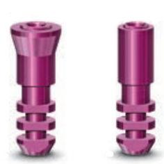 straight dental implant analog / stainless steel