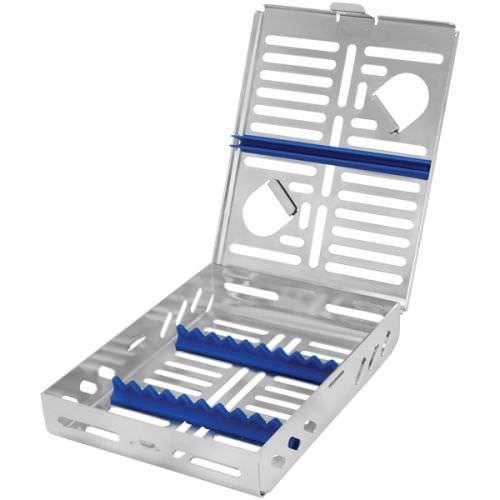 dental instrument sterilization cassette / stainless steel