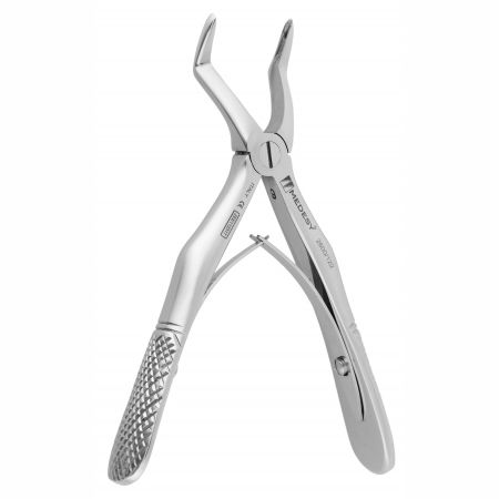 pediatric dental extraction forceps / for tooth roots / English pattern