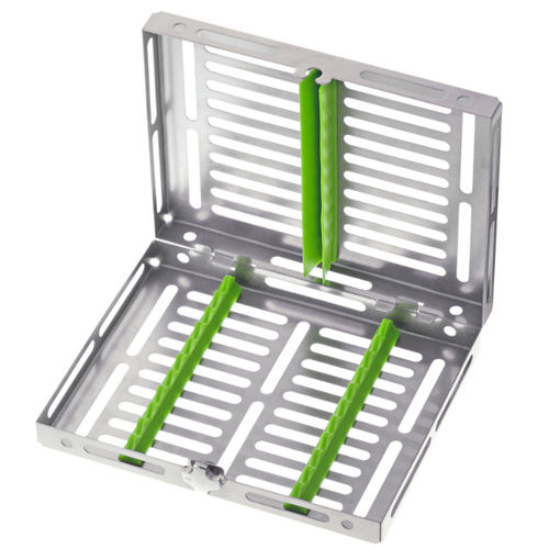 dental instrument sterilization tray