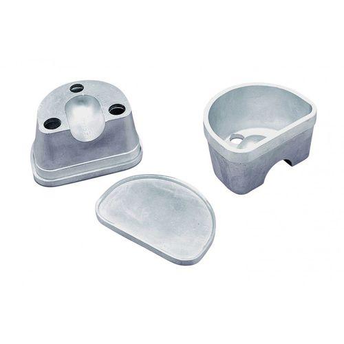 duplicating dental flask / aluminum