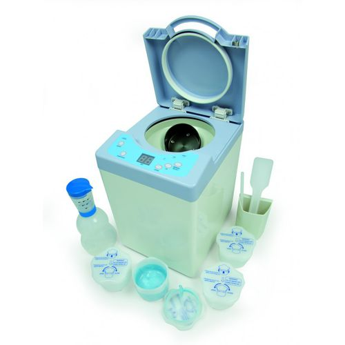 dental laboratory mixer / bench-top / digital / for alginates