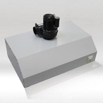 exhaust fume hood / for dental laboratories / modular