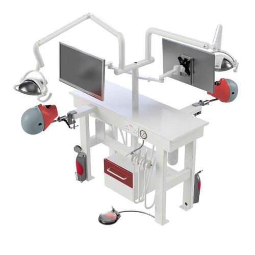 training simulator / dental care / workstation