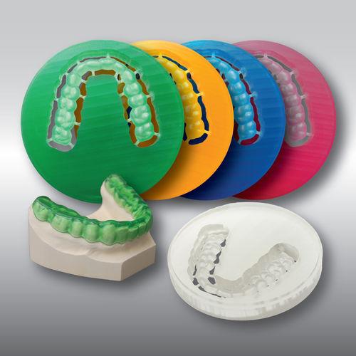 PMMA dental material