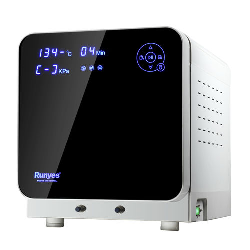 dental sterilizer / steam / bench-top / with touchscreen