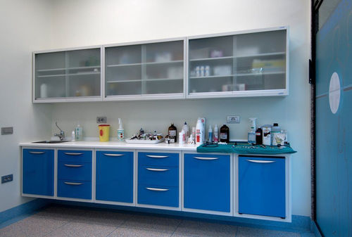 veterinary clinic cabinet
