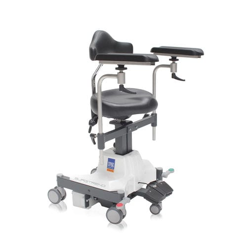 height-adjustable surgeon's chair