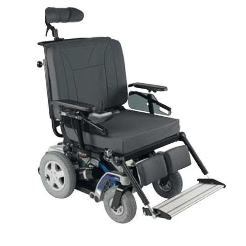electric wheelchair / bariatric / outdoor / with legrest