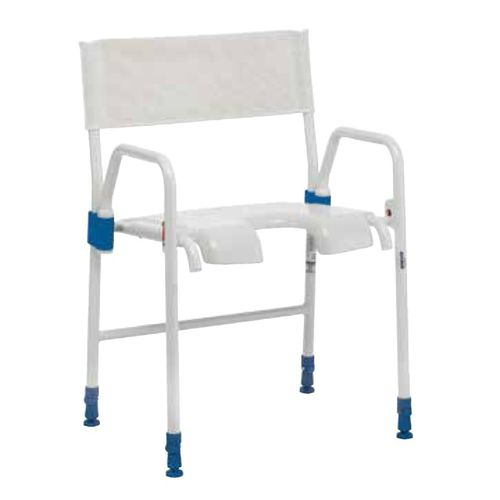 shower chair / with cutout seat