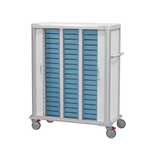 medicine distribution trolley - Lapastilla Soluciones Integrales