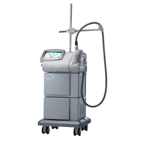 trolley-mounted IPL system / hair removal / pigmented lesion treatment / acne treatment