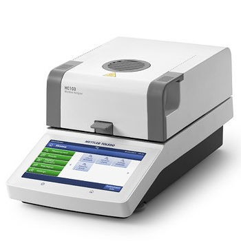 electronic moisture analyzer