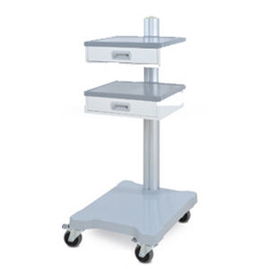transport trolley / for medical devices / with drawer / 2-drawer