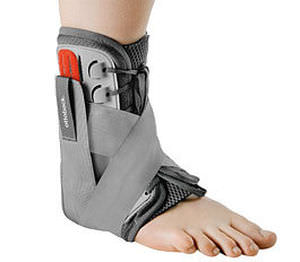 ankle strap / ankle orthosis / lace-up