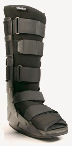 long walker boot / inflatable