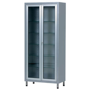 surgical instrument display cabinet