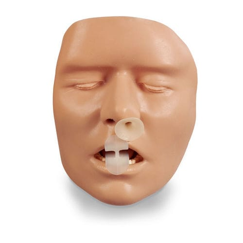 intubation training manikin / head