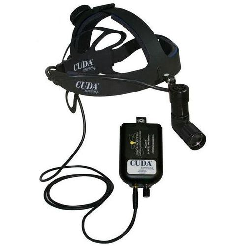 surgical headlight / LED / with rechargeable battery