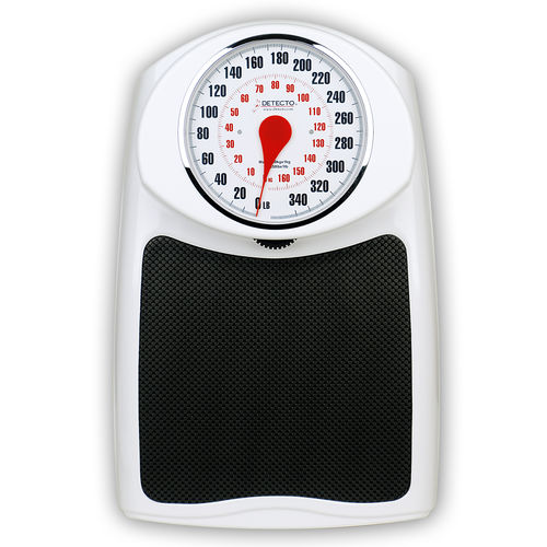 mechanical patient weighing scale / fitness / dial