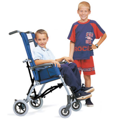 outdoor patient transfer chair / folding / pediatric