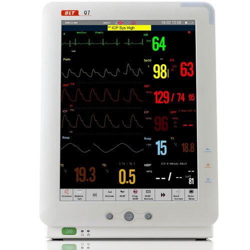 SpO2 patient monitor / NIBP / intensive care / clinical