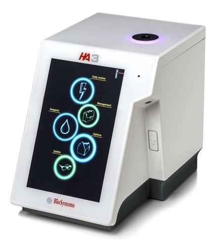 22-parameter hematology analyzer