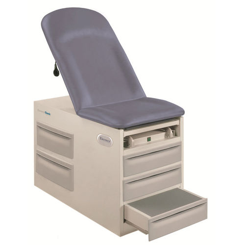 pneumatic examination table / with storage unit